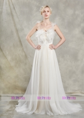 Ivory Tulle Wedding Gown Bridal Gown