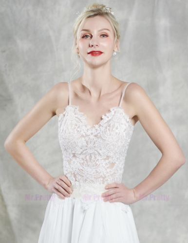 Light Champagne Wedding Top