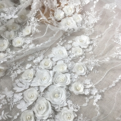 Ivory Lace Embroidery Lace Wedding Lace Fabric