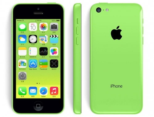 Refurbished-16GB Apple iPhone 5C  Green + Warranty!! DHL Free shipping !