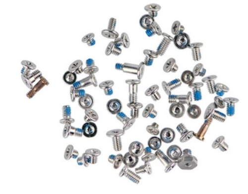 2000pcs/bag, Full Screw Set Silver/White Bottom Pentalobe Screws for Replacement for iPhone