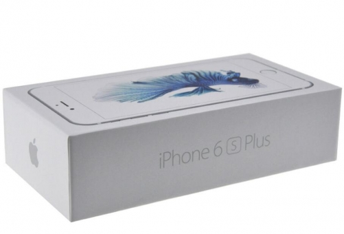 iPhone 6SPlus Packaging with accessory, UK/EU/US version