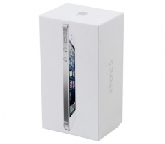iPhone 5 Packaging with accessory, UK/EU/US version