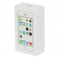 iPhone 5S Packaging with accessory, UK/EU/US version