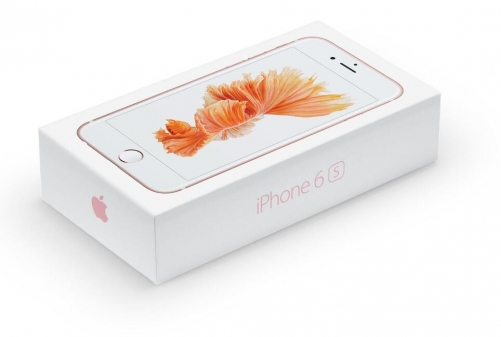 iPhone 6S Packaging with accessory, UK/EU/US version