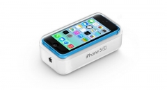 iPhone 5C Packaging with accessory, UK/EU/US version