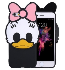 For iPhone 6 New Arrivals Glasses Cat Animal Phone Case,Soft Silicone Phone Shell