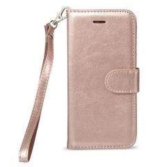 Leather Case Cover Pouch with Card Slot Photo Frame For iPhone 7 plus, For iPhone 7