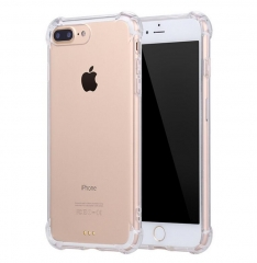 Transparent Cheap Soft TPU Case With Dust Plug For Iphone Case 4.7""