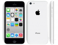 Used C/D iPhone 5C 16G - White (Unlocked) Smartphone