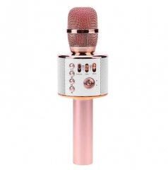 Wireless Karaoke Microphone with Speaker 3 in 1 Portable KTV