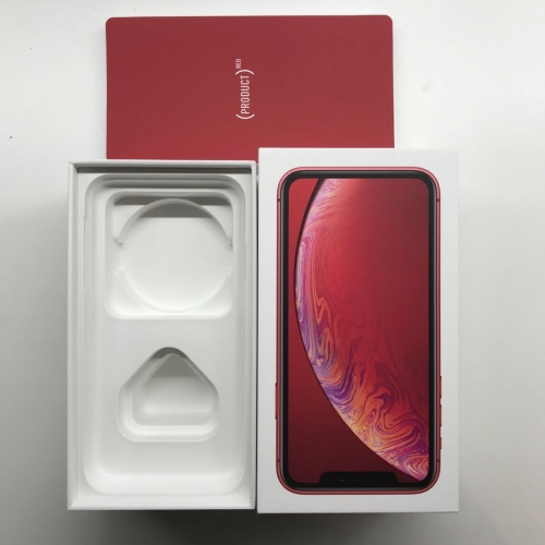 iPhone XR Packaging with accessory, UK/EU/US version