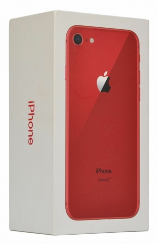 iPhone 8 Packaging with accessory, UK/EU/US version
