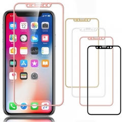 titanium alloy 9h tempered glass film protector for iPhone