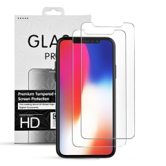 iPhone Tempered Glass Transparent Screen Protector