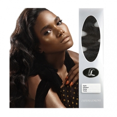 """Hair weave"", Brazilian Virgin Hair Grade9, Texture wavy, natural black color. Freestyle, 12 to 30 Inch in stock"