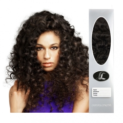 """Hair weave"", Brazilian Virgin Hair Grade9, Texture Deep curly, natural black color. Freestyle, 12 to 30 Inch in stock"