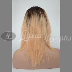 Mono Top-Straight-Human hair-Virgin-European Hair