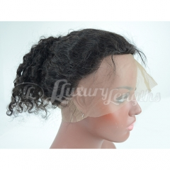 360Lace Frontal-Curly-Brazilian