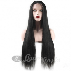 Full Lace-Straight-Human hair-Virgin-European Hair