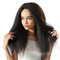 Full Lace-Yaki-Human hair-Virgin-European Hair
