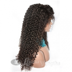 Full Lace-Curly-Human hair-Virgin-European Hair
