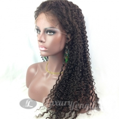 Full Lace-Deep Wave-Human hair-Virgin-European Hair