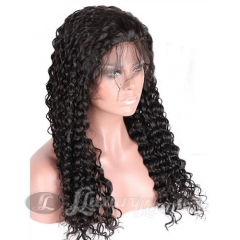 Lace Front-Water Wave-Human hair-Virgin-European Hair