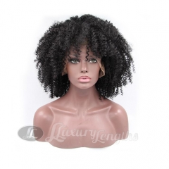 Full Lace-Afro Curl-Human hair-Virgin-European Hair
