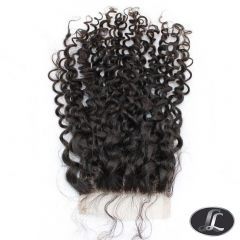 Closure-Spiral Curl European Hair