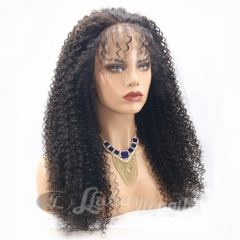 Lace Front-Afro Curl-Human hair-Virgin-Brazilian Hair