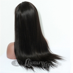 Lace Front-Straight-Human hair-Virgin-Brazilian Hair