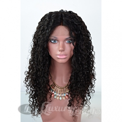 Lace Front-Deep Curl-Human hair-Virgin-Brazilian Hair