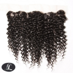 Lace Frontal-Curly-Peruvian Hair