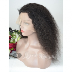 Lace Front-Deep Curl-Human hair-Virgin-Peruvian Hair