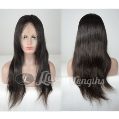 Full Lace-Straight-Human hair-Virgin-Peruvian Hair