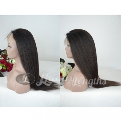 Full Lace-Kinky-Human hair-Virgin-Peruvian Hair