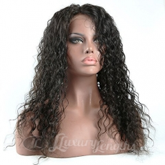 Lace Front-Deep Wave-Human hair-Virgin-Peruvian Hair