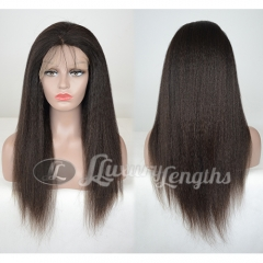 Full Lace-Kinky-Human hair-Virgin-Brazilian Hair