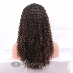 Lace Front-Curl-Human hair-Virgin-Peruvian Hair
