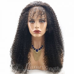 Lace Front-Afro Curl-Human hair-Virgin-Peruvian Hair