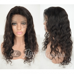 Lace Front-Loose Wave-Human hair-Virgin-European Hair