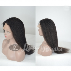 Full Lace-Yaki-Human hair-Virgin-Brazilian Hair