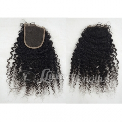 Closure-Afro Curl Peruvian Hair