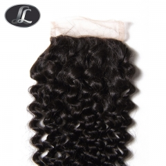 Closure-Curl Peruvian Hair