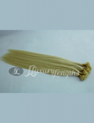 Flat tape extension blonde 613 color, human hair from bxhair factory
