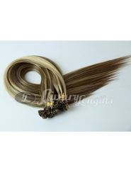 Flat tape extension Mix blonde and brown #613#3 color, human hair from bxhair factory