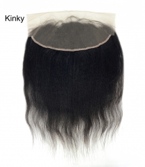 Lace Frontal-Kinky-Brazilian Hair