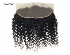 Lace Frontal-Yaki Curl-Brazilian Hair
