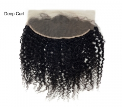 Lace Frontal-Deep Curl-Brazilian Hair